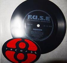 F.u.s.e - the unreleased expérience flexidisc + plus 8 sticker rarity!