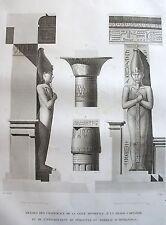 THEBES . MEMNONIUM. (pl. 30, A. vol. II). Details ........... DESCRIPTION EGYPTE