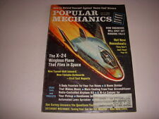 POPULAR MECHANICS Magazine, July, 1968, X-24 WINGLESS PLANE, HOUSEBOATS!