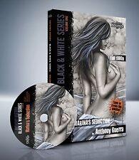 Advanced Airbrush DVD - Pro Black & White Mixed Media Illustration Techniques