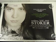 Stoker Nicole Kidman Mia Wasikowska ORIGINAL FILM AFFICHE DU FILM Quad 76x102cm