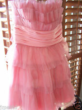 BETSEY JOHNSON WOMENS/YOUNG WOMENS PINK DRESS SIZE 6