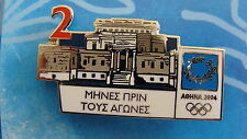 COUNTDOWN 2 MONTHS TO GO (GREEK) - ATHENS 2004 OLYMPIC PIN