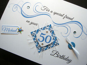 Personalised Handmade 'Special Age' Birthday Card