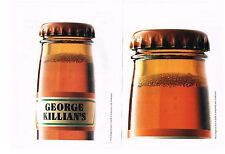 PUBLICITE  ADVERTISING  1991  GEORGE KILLIAN'S  bière (2 pages)