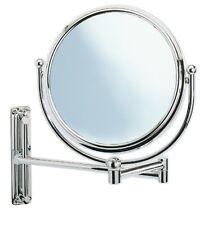 Wenko 3656211100 Specchio ingranditore 5x a parete, con braccio (B6P)