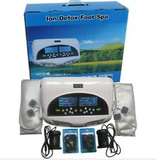 Dual Ionic Foot Detox Machine With Wristband,Ion Foot Spa,Foot Bath,Ion Cleanse