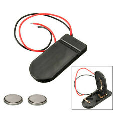 CR2032 Button Cell Battery Holder With Switch 6v Inc Lithium Batteries