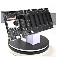 BTC-37 Miner Motherboard CPU Set 8 Video Card Slot DDR3 Memory Integrated VGA