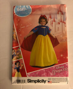 SIMPLICITY CHILD'S & GIRLS' COSTUME #8487 K5--SIZE 7-14-LISTING IS FOR 1 PATTERN