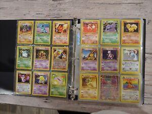 Binder(READ descript) Collection of Vintage Pokemon Cards lot Holographic Wotc