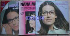 Disques vinyles Nana Mouskouri avec compilation