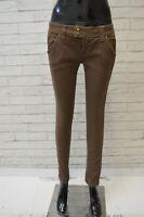 CYCLE Donna Pantalone Corto Jeans Taglia Size 29 Pants Woman Slim Fit Casual