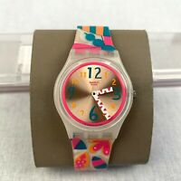 Swatch Happy Insects GW144 Women's Wrist Watch Quartz Silicone Analogue Kid's