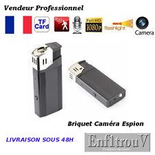 BRIQUET CAMÉRA CACHEE ESPION FULL HD 1080P MINI DVR USB MICRO SD