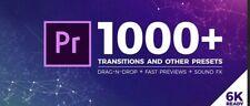Adobe Premiere Pro 1000+ Transizioni E Preset