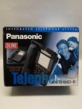 Panasonic Integrated Telephone System KX-T3185D-B 3 Line