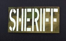 Large ATACS-FG Luminescent SHERIFF Patch County SWAT SERT
