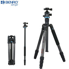 Benro IF28C+ Carbon Fiber Portable Reflexed Tripod With Carrying Bag