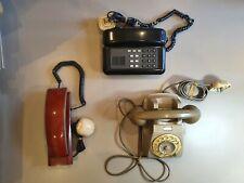 Stock #3 con n.3 telefoni fissi SIP ALCATEL vintage