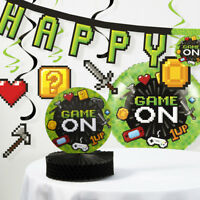 Video Game Party Birthday Decorations Kit