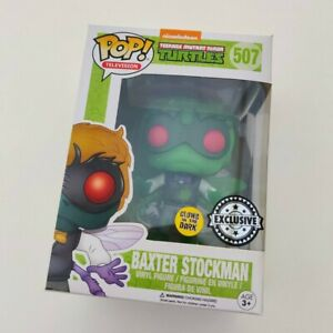 Funko Pop TMNT Baxter Stockman Glow in the Dark GITD EXCLUSIVE 507