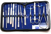 German 54 PC MINOR SURGERY DISSECTION DISSECTING STUDENT KIT SURGICAL INSTRUMENT