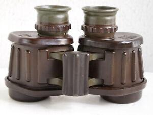 rare Carl Zeiss 6x30B HTK crown military binoculars from danish army,collectors