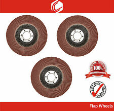 """4""""(100mm) Premium Quality FlapWheel/Disc Grit 60,80,120 for Grinding Application"""