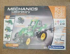 Clementoni Mechanics laboratory Farm equipment - 10 Models - SEALED - LAST ONE