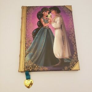 Disney Fairytale Designer Collection Aladdin Notebook Rare! Some blemishes.