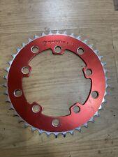 TUF NECK BMX Old School Bmx Chainring 42 Red