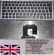 Teclado Qwerty UK SONY VAIOVPC-YA VPC-YB SC0SW 9Z.N5USW.00U A1807421A Negro