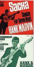 CD Single The SHADOWS - Hank MARVIN Sacha 4-track CARD SLEEVE Goodnight Dick