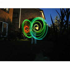 LED POI Thrown Balls for Professional Belly Dance Level Hand Props