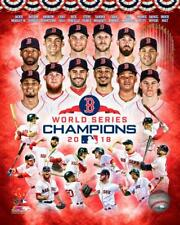 2018 WORLD SERIES Boston Red Sox MLB LICENSED unsigned 8x10 Photo