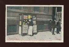 LONDON Life Series Paper Kiosk Prudential Holborn pre1919 PPC
