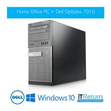 Schneller OFFICE PC - DELL Optiplex 7010 MT / 240GB SSD / Intel Core i5-3470 ...