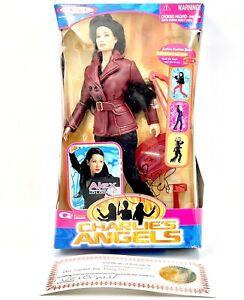 Charlie's Angels Alex Lucy Liu Signed Box Alex Jakks Pacific Rosie O'Donnell