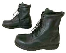 Rhino Men's US 12 Composite Toe 8-Inch Black Lace Up Casual Basic Work Boots EX