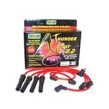 Taylor Spark Plug Wire Set 87250; ThunderVolt 8.2mm Red for Toyota 4 Cylinder