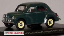 Artículos de automodelismo y aeromodelismo verdes, Renault, Escala 1:43