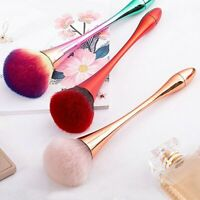 Makeup Soft Beauty Powder Big Blush Flame Brush Face Foundation Cosmetic Tool