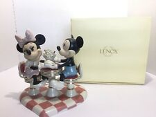 Lenox Disney Showcase Minnie Mickey's Soda Shop Sweetheart Figurine