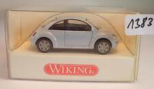 Wiking 1/87 n. 035 03 24 VW VOLKSWAGEN NEW BEETLE LIMOUSINE BLU CHIARO OVP #1383