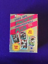 1991 Pacific Pro Football Player Cards Premier Edition Box of 36 Wax Packs each