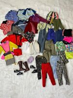 Ken Barbie Doll Clothes Shoes Huge Lot Baywatch Vintage Fashionista Boots Todd