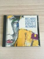 Riccardo Cocciante - Eventi e Mutamenti - CD Album - 1993 Prima Edizione