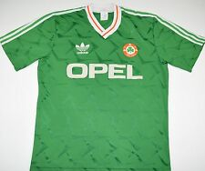 1990-1992 IRELAND ADIDAS HOME FOOTBALL SHIRT (SIZE L)