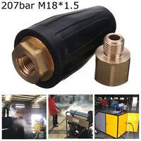 3000 PSI 207bar High Pressure Washer Spray Rotating Jet Cleaner Tip Turbo